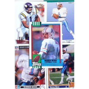 Warren Moon trading cards